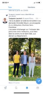 Tweet de Laurent Turquois sur ASF44