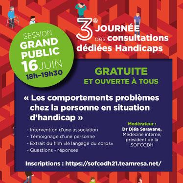 3ÈME JOURNÉE NATIONALE DES CONSULTATIONS DÉDIÉES HANDICAPS