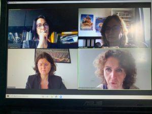 Rencontre avec la députée Valérie Oppelt,responsable de la coalition inclusion, Isabelle Rolland co-présidente ASF et ASF 44